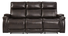 Picture of Team Time Power Reclining Sofa With Adjustable Headrest