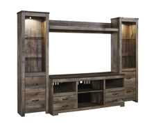 Picture of Trinell 4 Piece Entertainment Center