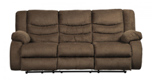 Picture of Tulen Chocolate Reclining Sofa
