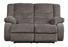 Picture of Tulen Gray Reclining Loveseat