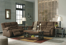 Picture of Tulen Chocolate 2-Piece Reclining Living Room Set