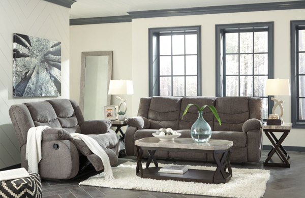 Picture of Tulen Gray 2-Piece Reclining Living Room Set
