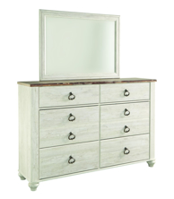 Picture of Willowton Dresser & Mirror