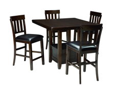 Picture of Haddigan 5-Piece Counter Height Dining Set