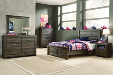 Picture of Juararo 6-Piece Full Panel Bedroom Set