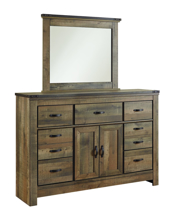 Picture of Trinell Dresser & Mirror