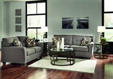 Picture of Tibbee Slate 2-Piece Living Room Set