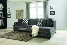 Picture of Kumasi Smoke 2-Piece Right Arm Facing Sectional