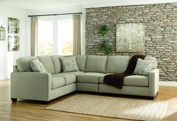 Outstanding Alenya Quartz 3 Piece Left Arm Facing Sectional Creativecarmelina Interior Chair Design Creativecarmelinacom