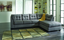 Picture of Maier Charcoal 2 Piece Right Arm Facing Sectional