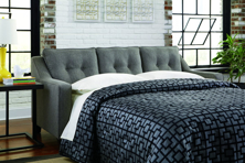 Picture of Brindon Charcoal Queen Sofa Sleeper