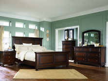 Picture of Porter 6-Piece King Panel Bedroom Set