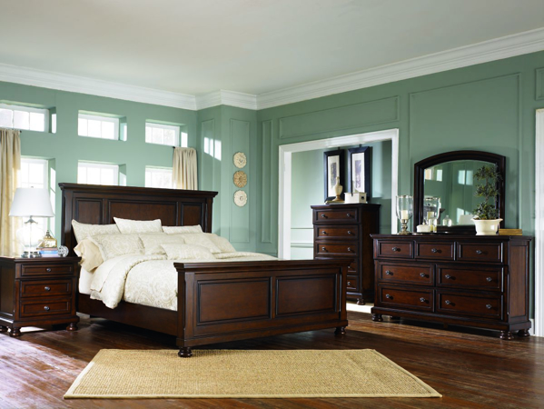 Porter 6-Piece King Panel Bedroom Set