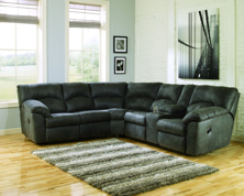 Picture of Tambo Pewter 2-Piece Reclining Sectional
