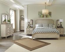 Picture of Demarlos 6-Piece King Panel Bedroom Set