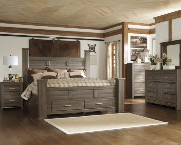 Swell Juararo 6 Piece King Storage Bedroom Set Home Interior And Landscaping Spoatsignezvosmurscom