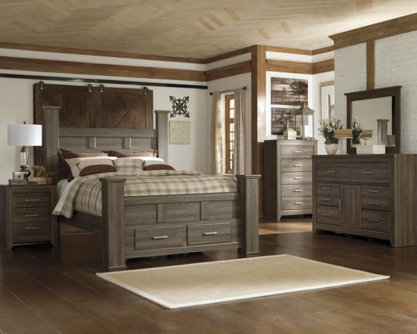 Juararo 6-Piece Queen Storage Bedroom Set
