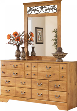 Picture of Bittersweet Dresser & Mirror