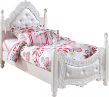 Picture of Exquisite Twin Poster Bed