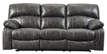 Picture of Dunwell Steel Power Reclining Sofa With Adjustable Headrest