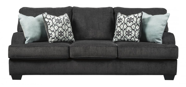 Picture Of Chaon Charcoal Sofa