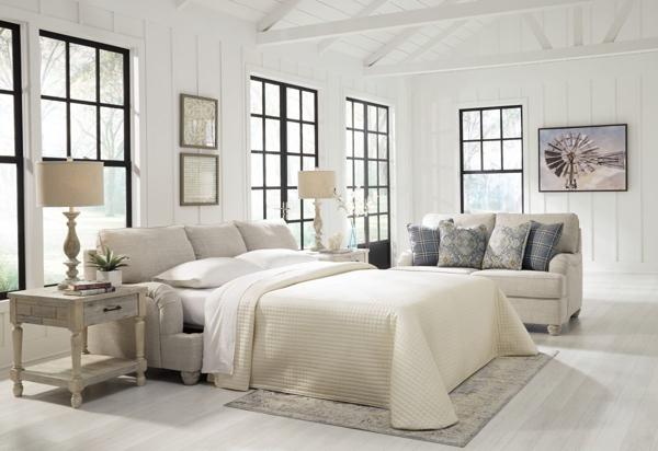 Picture Of Traemore Linen Queen Sofa Sleeper