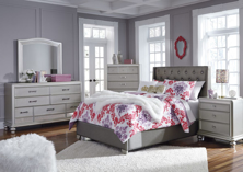 Picture of Coralayne Youth Full Upholstered Bedroom Set
