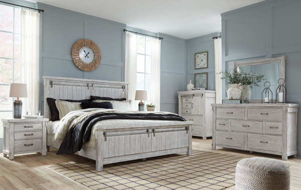 Brashland 6-Piece King Panel Bedroom Set