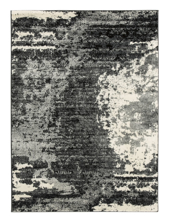 Picture of Roskos Black/Gray 5x7 Rug
