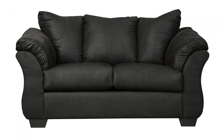 Picture of Darcy Black Loveseat