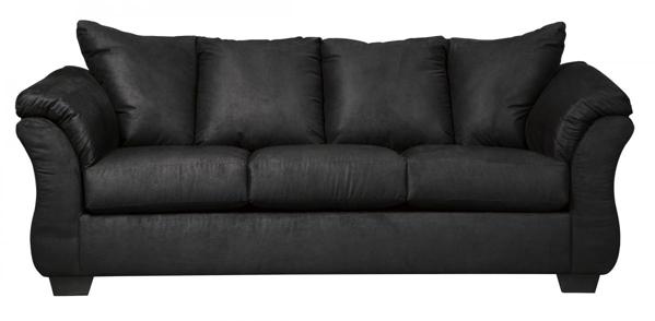 Picture Of Darcy Black Sofa