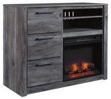 Picture of Baystorm Media Chest with Fireplace