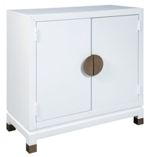 Picture of Walentin White Accent Cabinet