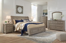 Picture of Lettner 6-Piece King Sleigh Bedroom Set