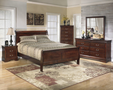 Picture of Alisdair 6-Piece King Sleigh Bedroom Set