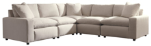 Picture of Savesto Ivory 5-Piece Sectional