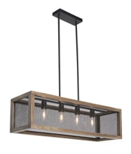 Picture of Jodene Wood Pendant Light
