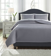Picture of Dietrick Gray King Quilt Set