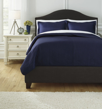 Picture of Raleda Navy King Coverlet Set