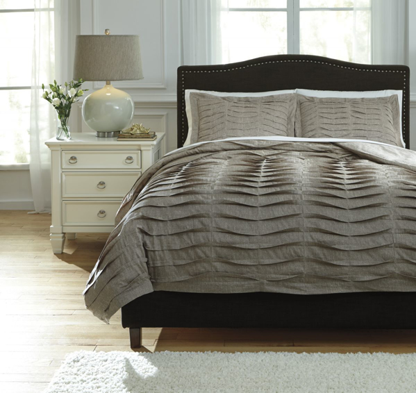 Picture of Voltos Brown King Duvet Cover Set