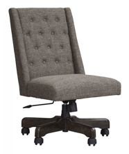 Picture of Arthur Graphite Swivel Desk Chair