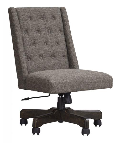 Picture of Arthur Graphite Swivel Desk Chair