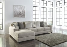 Picture of Ardsley Pewter 2-Piece Left Arm Facing Sectional