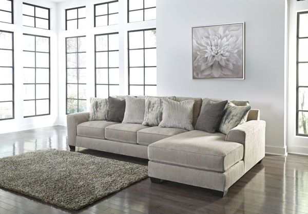 Picture of Ardsley Pewter 2-Piece Right Arm Facing Sectional