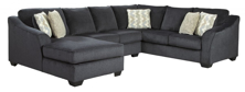 Picture of Eltmann Slate 3-Piece Left Arm Facing Sectional