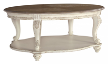 Picture of Realyn Oval Cocktail Table