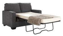 Picture of Zeb Charcoal Twin Sofa Sleeper