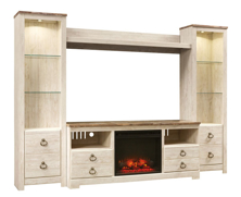 Picture of Willowton 5-Piece Entertainment Wall Unit