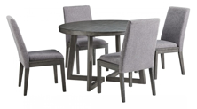Picture of Besteneer 5-Piece Round Dining Room Set