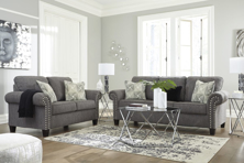 Picture of Agleno Charcoal 2-Piece Living Room Set